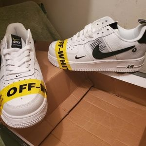 "Female Nike AF1 ""JUST DO IT"" EDITION"